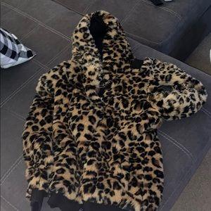 Victoria Secret Cheetah Coat
